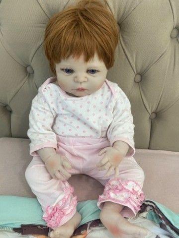 Bebê menina reborn  - Foto 2