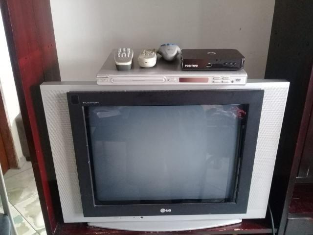 Tv21 com jogos ,dvd,e conversor - Áudio, TV, vídeo e fotografia ...