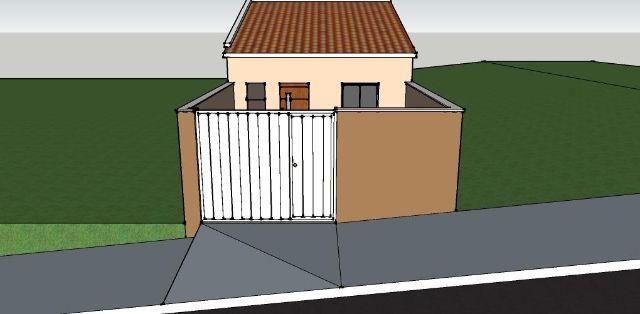 Casa em construção Pq Real