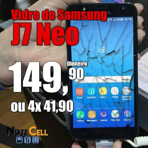 Vidro do Samsung J7 Neo Instalado!