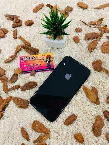Iphone XR Preto 64gb Novo