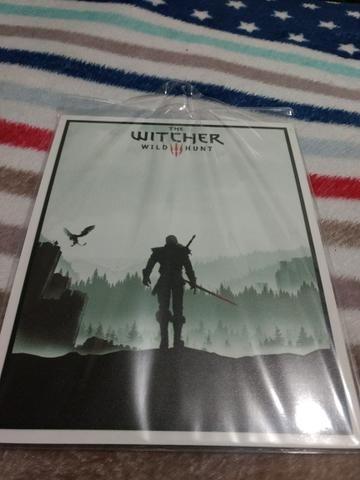 Placa decorativa The Witcher