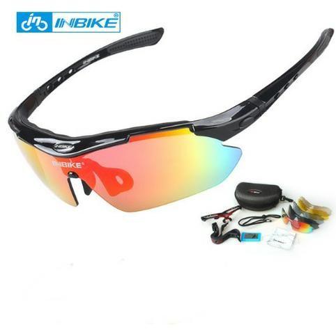 Óculos De Ciclismo Inbike (5 Lentes)