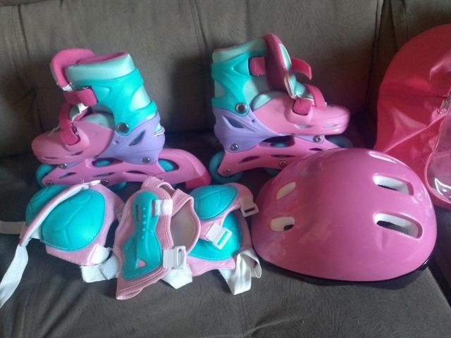Patins roller infantil - Foto 3