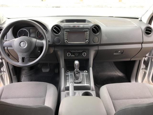 Vw - Volkswagen Amarok Treend 2013 Automatica 4x4 Diesel - Foto 7