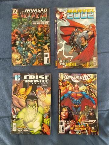 HQs1 Marvel e DC / Manga DBZ