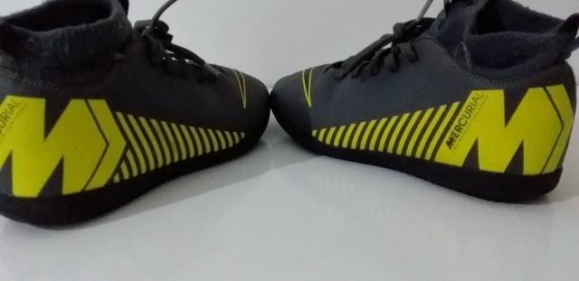Botinha Chuteira Futsal N° 32 Nike Mercurial Superfly Original