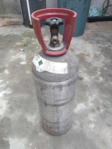 Cilindro CO2 para shop e MIG
