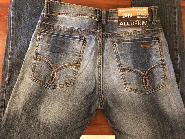 f344592466e Calças de grife usadas tamanho 38 - Roupas e calçados - Estrela ...