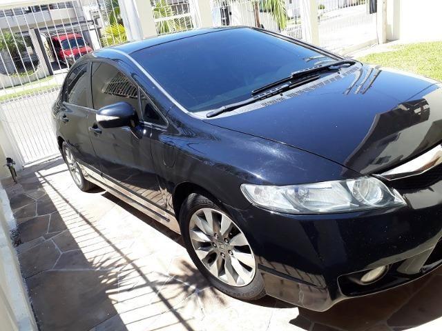 Honda Civic lxl , 2010 ,manual ,nota fiscal compra ,couro, ,placa I ,