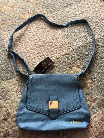 Bolsa transversal azul pastel Chenson - Foto 2