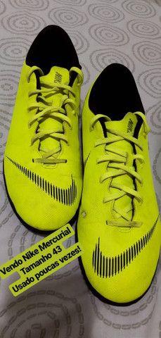 Chuteira futsal Nike Mercurial Vapor Usada