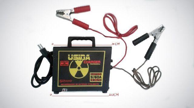 Carregador De Bateria Charger Profissional Usina Spark (60 amp / 12v) - Caruaru (PE) - Foto 5