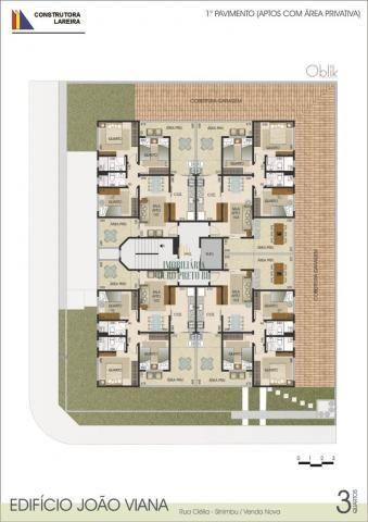 Apartamento à venda com 3 dormitórios em Sinimbu, Belo horizonte cod:3625 - Foto 4