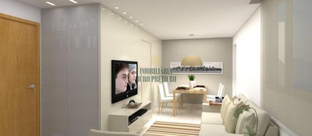 Apartamento à venda com 3 dormitórios em Sinimbu, Belo horizonte cod:3625 - Foto 2