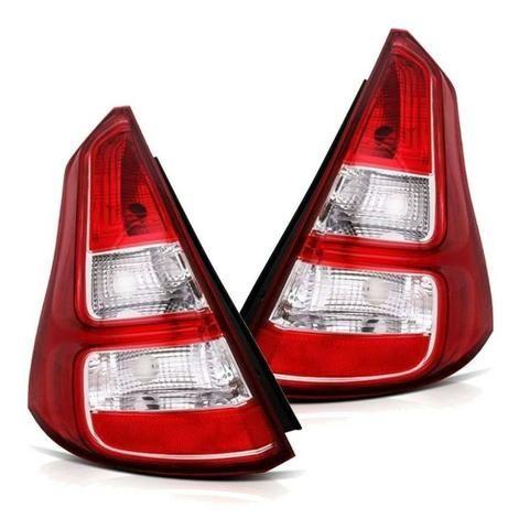 Lanterna Traseira Renault Sandero 2012 2013 2014 Vermelha - Foto 2
