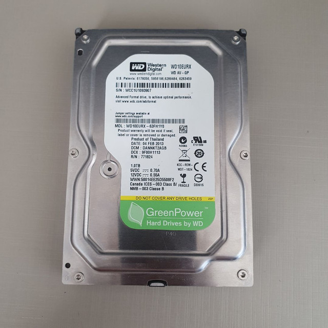HD 1000GB (1TB) Western Digital Sata 3  - Foto 2