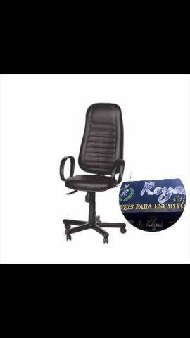 Cadeiras giratórias para escritório novas - Foto 4
