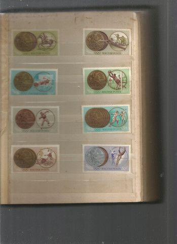 Álbum de selos húngaros - Foto 6