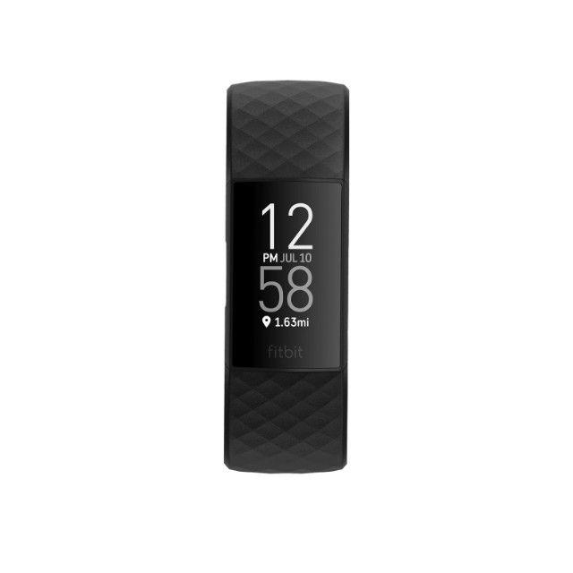 Fitbit Charge 3 Black - Preto - Com 2 Pulseiras P / G