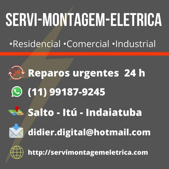 #Eletricista #Residêncial #Predial #Comercial #salto #Itu #Indaiatuba - Foto 4