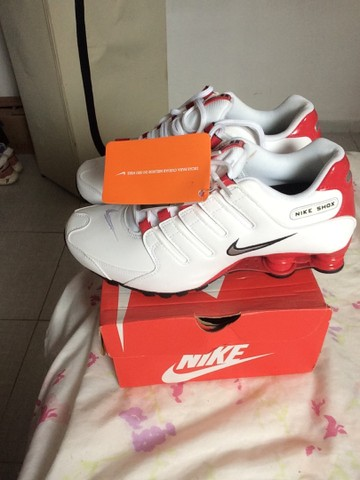 Tênis Nike Shox nz  novo na caixa  - Foto 3