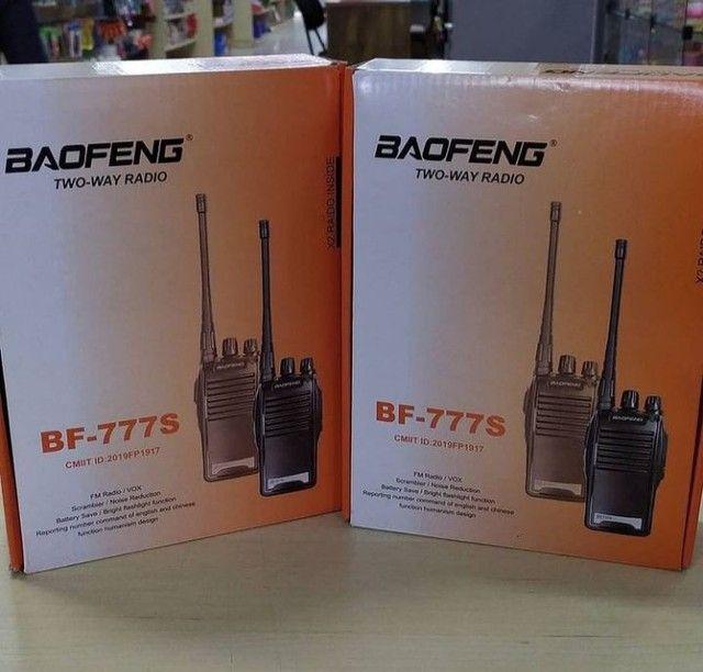Radio Comunicador Comunicacao Baofeng Walkie Talkie 16 Canais Bf 777s - Foto 6