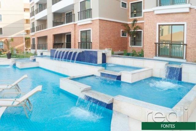 Apartamento à venda com 4 dormitórios em Porto das dunas, Aquiraz cod:RL613 - Foto 3