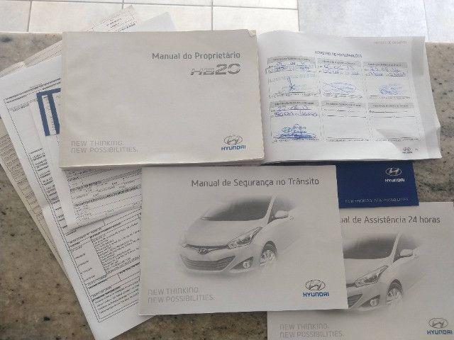 Hyundai HB20S Sedan Comfort Plus 1.0 Flex 2014 - Apenas 87.633 Km / Ipva Pago - Foto 17