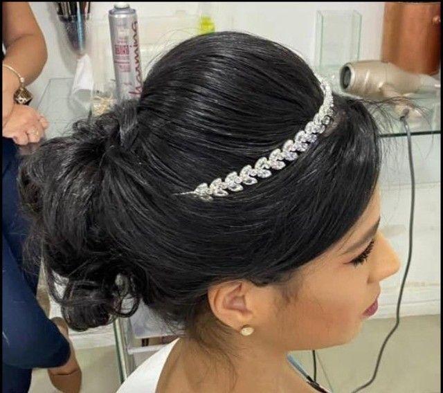 Tiara noiva ou 15 anos - Foto 3
