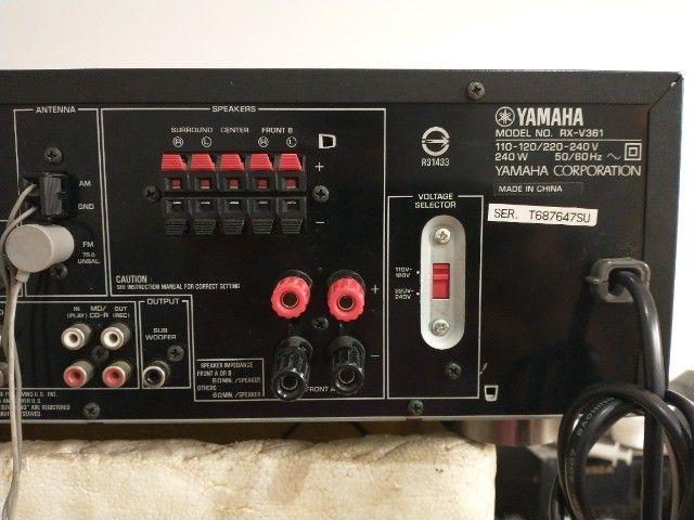 Receiver - Yamaha Rx-v361 (audio/video) - Foto 2
