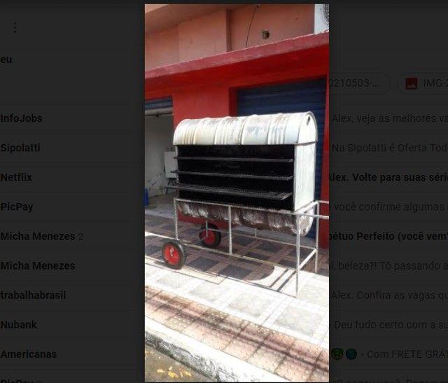 Churrasqueira para Galeto - Assa 30 galetos de vez  - Foto 6