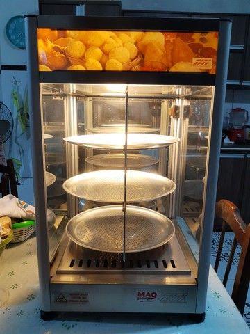 Estufa giratória para salgados e pizzas Titã