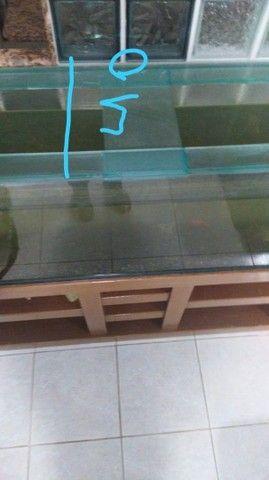 Aquário com móvel de Madeira  - Foto 2