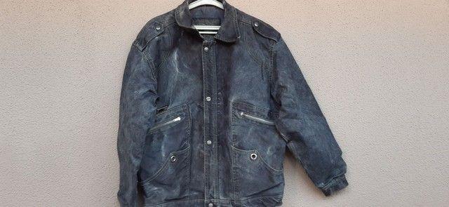 Jaqueta masculina de lona  - Foto 4