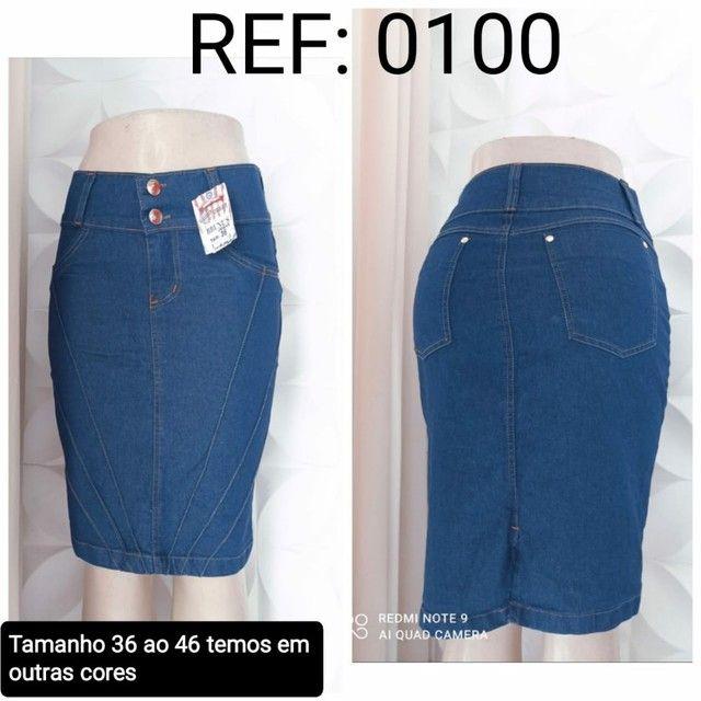 Kit 10 saias Jeans Evangélica direto da fábrica para vender - Foto 6