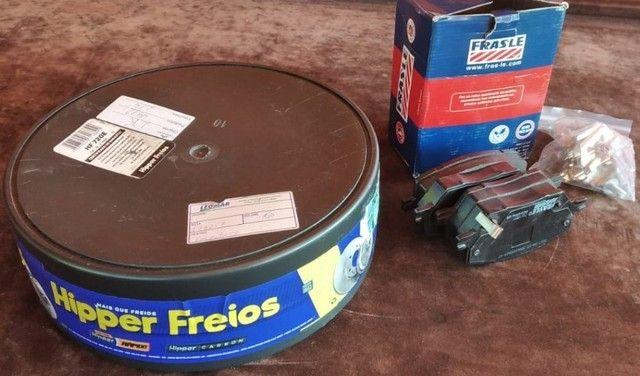 Discos e pastilhas de freio Toro e Renegade - Foto 3