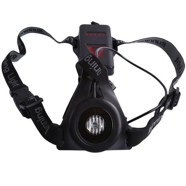 Lanterna de peito para a prática de corrida noturna (night run) Light running - Foto 2