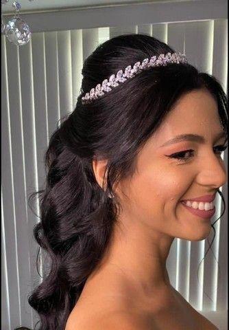 Tiara noiva ou 15 anos - Foto 2