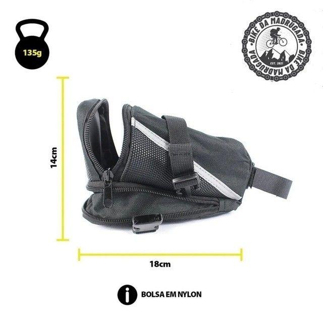 Bolsa de Selim Grande de alta qualidade para bicicleta bike ciclismo