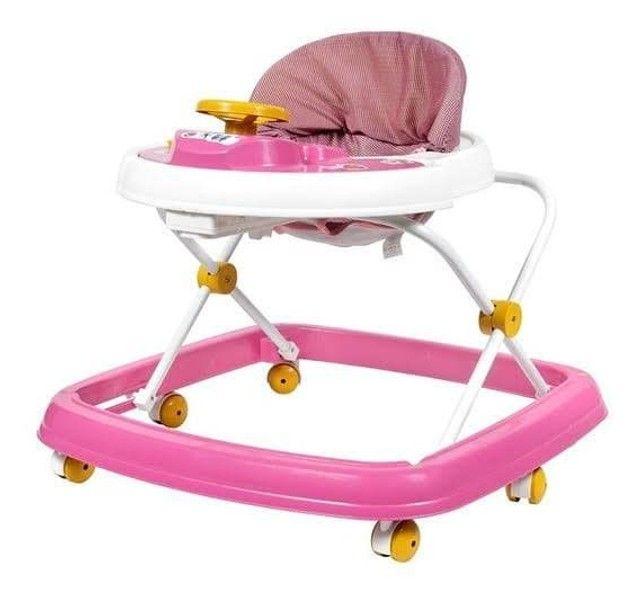 Andador Infantil Para Bebê Regulagem de Altura Styll Baby Azul