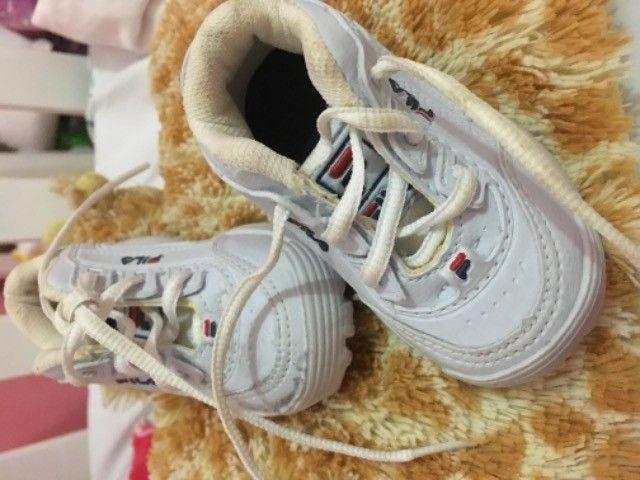 Sapato fila infantil unissex  - Foto 5