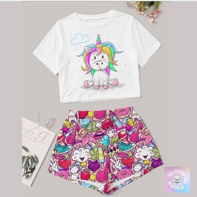 Pijamas Femininos adulto  - Foto 2