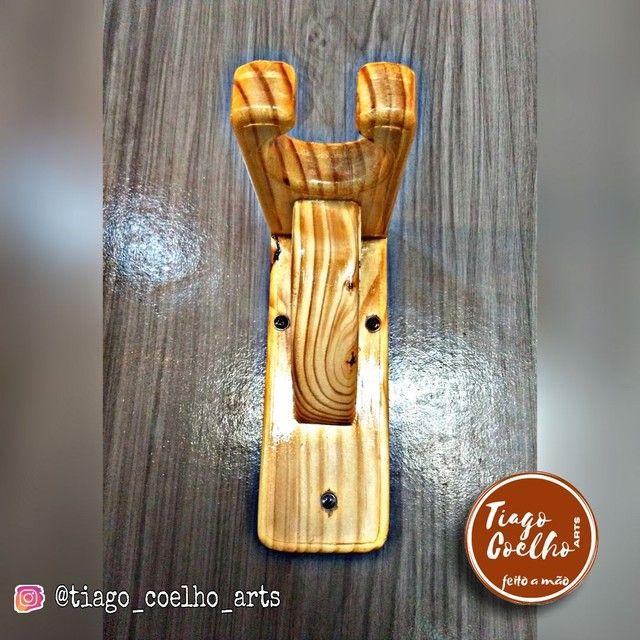 Suporte para instrumentos de corda-personalizado - Foto 3
