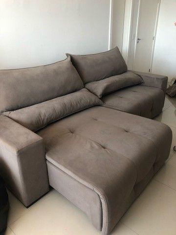 Sofá retrátil e reclinável. - Foto 2
