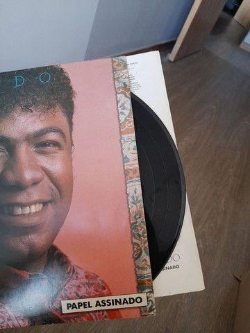 LP Reinaldo - Papel Assinado *RARO* - Foto 3