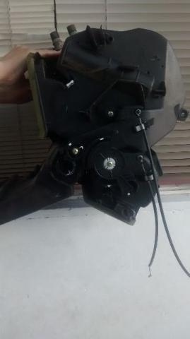 Diversa peças de carro exemplo painel de Clio, ventilador vários