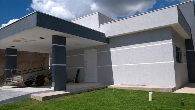 Samuel Pereira oferece Casa Moderna Alto da Boa Vista 3 Suites Churrasqueira Financia FGTS - Foto 20