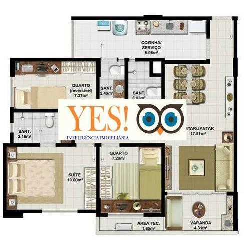 Apartamento 3/4 para Aluguel no Senador Life - Olhos D´Agua - Foto 8