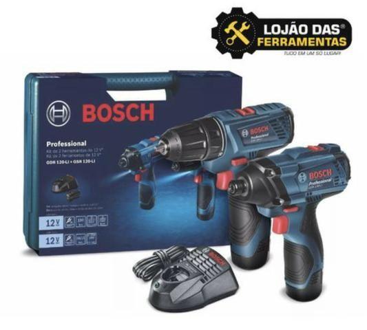 Combo a Bateria 12V (GDR + GSR) 120LI Bosch